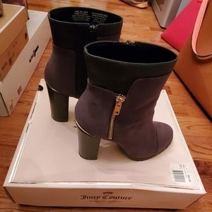 Juicy Couture Charcoal Jclivia Boots/Booties